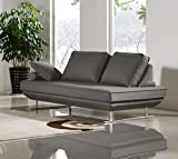 Cheap Diamond Sofa Dolce Adjustable Sleeper Sofa Sofa in Gray