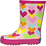 Back to School Blowout Sale! RanyZany Heart To Heart Rain Boots For Girls