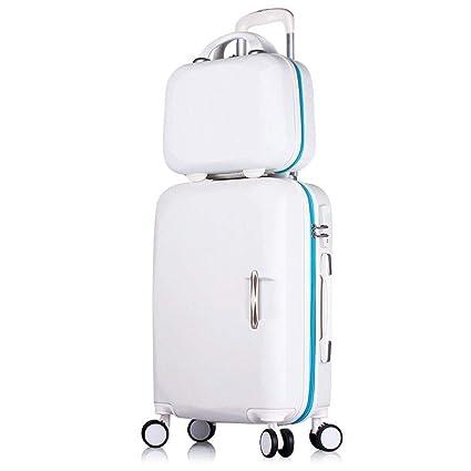 La maleta Trolley de Equipaje a Prueba de Agua Traje de Dos ...