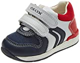 Geox Rishon Boy - B640RA08510C0899 - Color Black-Red - Size: 5.5