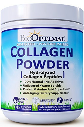 BioOptimal-Collagen-Powder-Collagen-Peptides-Grass-Fed-for-Skin-Hair-Nails-Joints-Collagen-Supplements-for-Women-Men-Pasture-Raised-Dissolves-Easily-16-Ounces-16-Ounce