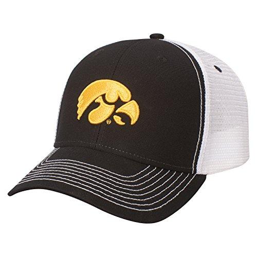 - NCAA Iowa Hawkeyes Adult Unisex Sideline Cap  Adjustable