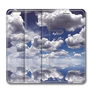 Clouds Over Water iPhone 6 Plus 5.5inch Leather Case, Personalized Protective Slim Fit Skin Cover For Iphone 6 Plus [Stand Feature] Flip Case Cover for New iPhone 6 Plus