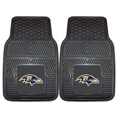 FANMATS NFL Baltimore Ravens Vinyl Car Mat