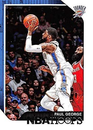 b7850e8d7a1 2018-19 Panini Hoops  10 Paul George Oklahoma City Thunder NBA Basketball  Trading Card