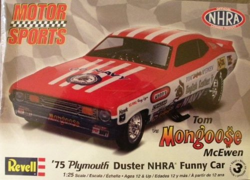 Revell 1:25 Mongoose Plymouth Duster Funny Car Tom McEwen Model Kit