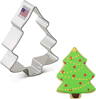 """product image for Ann Clark Cookie Cutters Snow Covered Tree Cookie Cutter, 3.5"""""""