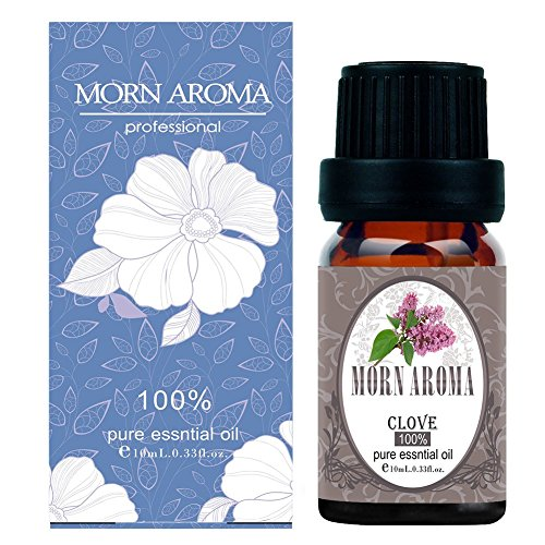 Clove 100% Pure Therapeutic Grade Essential Oil by Morn Aroma -10 ml. Undiluted