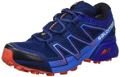 Salomon Speedcross Vario Gore-TEX Trail Running Shoes - SS17 Blue qJXFnIjukK