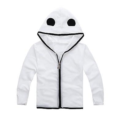 2c879d92ee26 LifeWheel Kids Cartoon Panda Anti UV Clothing Thin Coat BeachWear UPF  50+for Boys and