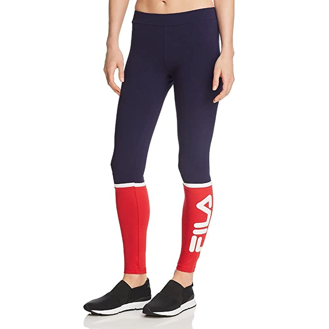b3abec2737be63 Fila Women's Paloma Leggings, Peacoat, Chinese Red, White, ...