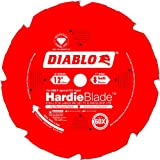 Freud D1208DH Diablo 12-Inch by 8 Tooth Polycrystalline Diamond Tipped TCG Hardie Fiber Cement Saw Blade