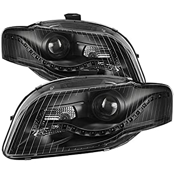 Amazoncom Audi A Projector Xenon Type Headlights Led Fog - 2007 audi a4 headlights