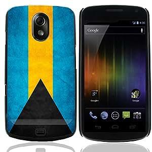 Graphic4You Vintage Bahamian Flag of Bahamas Design Thin Slim Rigid Hard Case Cover for Samsung Galaxy Nexus