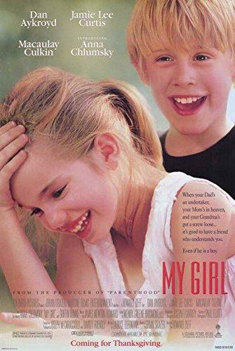 My Girl Poster Movie 11x17 Dan Aykroyd Jamie Lee Curtis Macaulay Culkin Anna Chlumsky