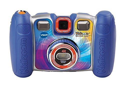VTech Kidizoom Spin and Smile Camera, Blue ()