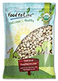 Food to Live Organic Macadamia Nuts (Raw, Kosher) (8 Pounds)