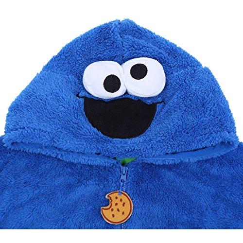 Sesame Street -:- Cookie Monster -:- Traje Azul Monstruo de Las ...