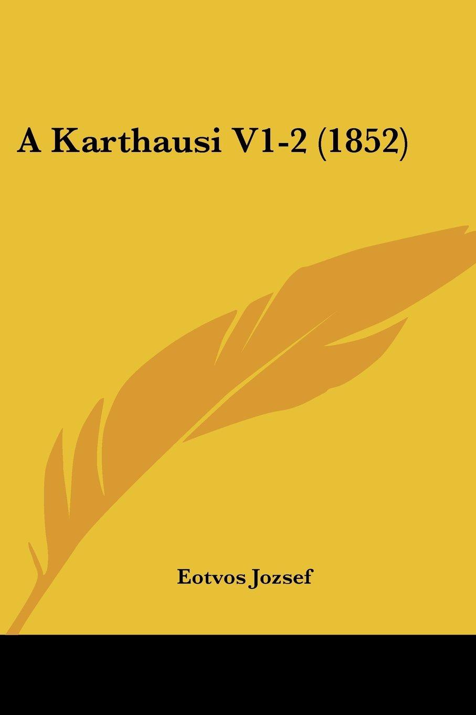 A Karthausi V1-2 (1852) (Hebrew Edition) PDF