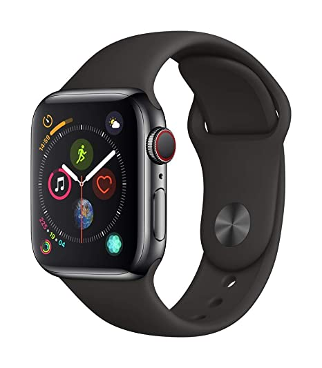 Apple Watch Series 4 (GPS + Cellular) 40mm Stainless Steel Smartwatch (Refurbished)