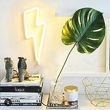 Lightning Bolt Neon Art Sign Lightning LED Neon Signs Handmade Visual Artwork Home Wall Decor Light For Kids Room Designed By WanXing