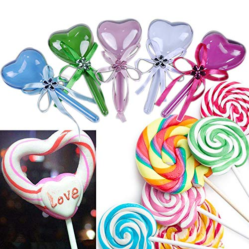 ViShow Novelty Heart Lollipop Box for Wedding Decoration Bridal Shower Party Favor Birthday Sweet Gift Box