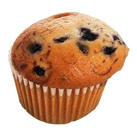 Otis Spunkmeyer Delicious Essentials Wild Blueberry Muffin, 2.25 Ounce -- 96 per case. - Simply Delicious Muffins