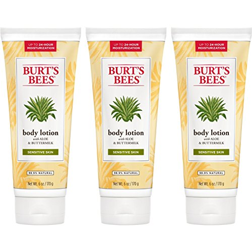 Burt's Bees Aloe and Buttermilk Body Lotion - 6 Ounce Bottle (Pack of -