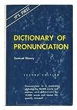 Dictionary of Pronunciation, Samuel Noory, 0498079171