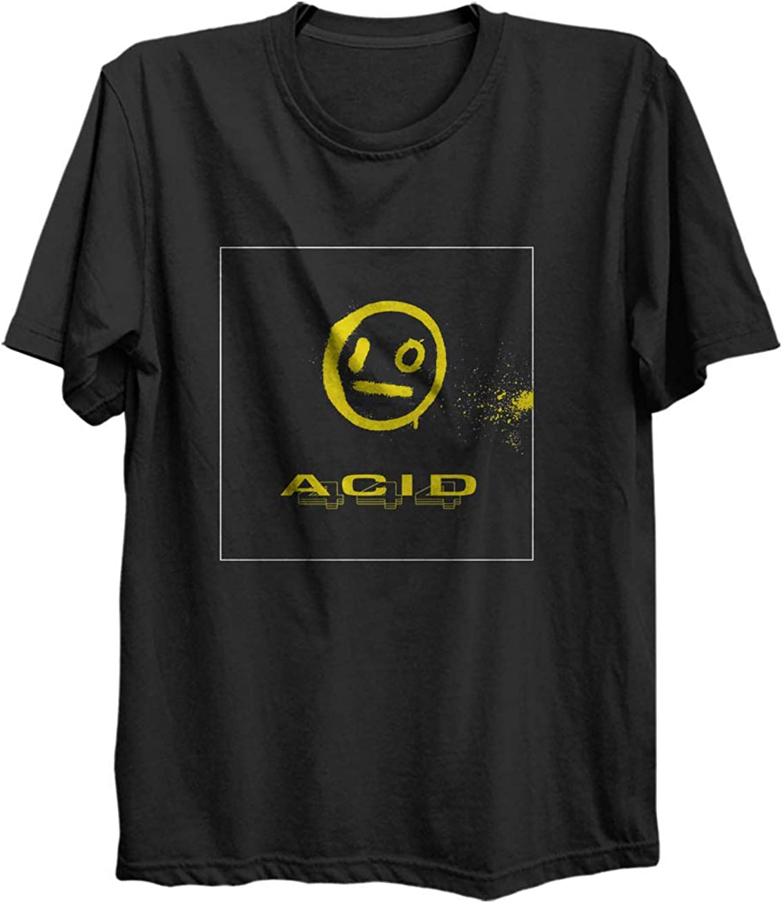 amazon com i o merch merchadise logo acid 444 cool shirt long sleeve crewneck sweatshirt hoodie sweatshirt for kids men women black clothing i o merch merchadise logo acid 444