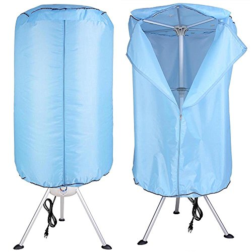 AMPERSAND SHOPS Portable Convenient Clothes Dryer Electric Folding Laundry Drying Rack Top Deals
