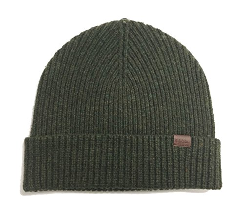Rich Cotton Wool Beanie (Seaweed)