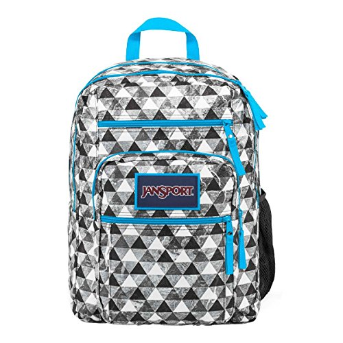 JanSport Mens Classic Mainstream Big Student Overexposed Backpack - Multi Marble Prism / 17.5