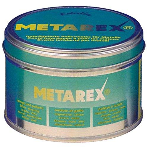 aS Arnolds Sons Metarex Polierwatte und Politur für alle Metalle - 100 Gramm Dose