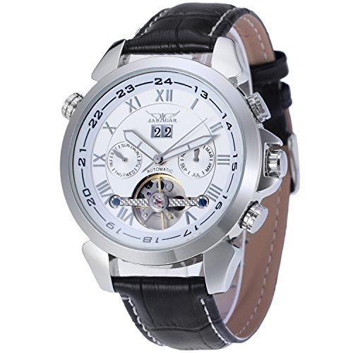 FORSININGメンズ自動元腕時計jag057 m3s2 B00XBPWF72