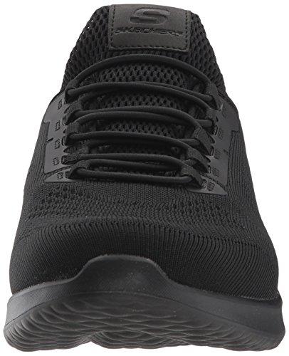 Sneaker Fit Delson Black Skechers Men's Black M Relaxed US Brewton Men's 12 USA qAA6wx0I