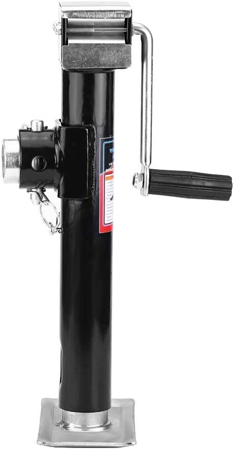 Forever Speed Soporte de remolque 2X Remolque Jack Atornillado de Remolque Jack lengua Colgante 420-680mm 2T Trailer Jack