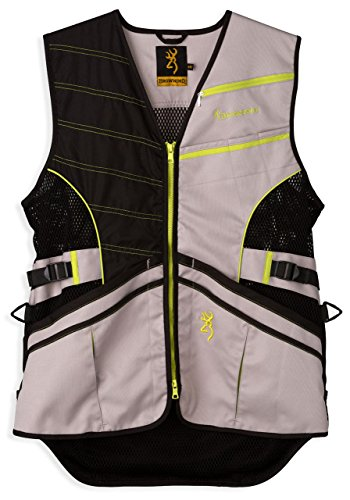 Browning Vest Ace Shooting Neon Ylw, Size: Xs (3050820500)