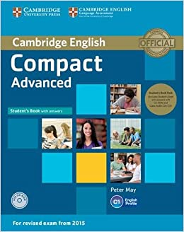 Compact Advanced Students Book Pack Students Book with Answers with CD-ROM and Class Audio CDs 2: Amazon.es: May,Peter: Libros en idiomas extranjeros