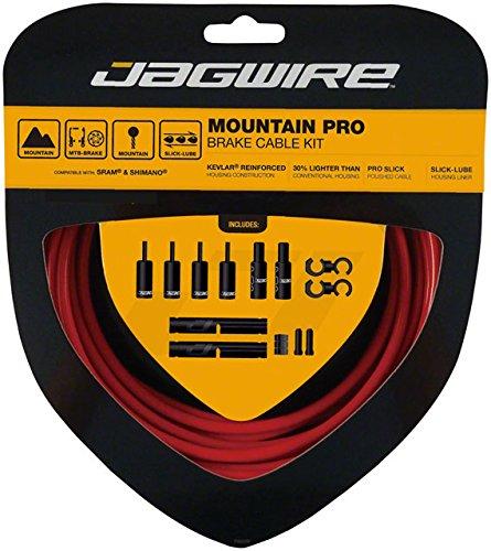 - Jagwire Pro Brake Cable Kit Mountain SRAM/Shimano, Red