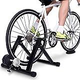 Jeash Bike Trainer Stand - Portable Stainless Steel Indoor Trainer...