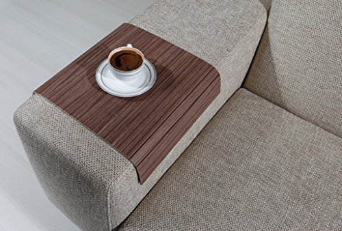 Sofa Table,Wood Tray,Wood Gifts Armrest Tray Sofa Arm Tray Sofa Tray Table Long Sofa Arm Table Couch Tray Naples Ash Coffee Table