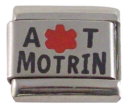allergic-to-motrin-medical-id-alert-italian-charm-for-bracelet-allergy