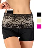 Stashbandz Travel Money Belt & Fanny Pack Pretty Lace with Silicone Grip | 4 Colors 3 Sizes 4 Wide Pockets Fit All Cell Phones