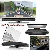 Eximtrade HUD Head Up Display Car Phone Holder Support Mount GPS Image Reflector