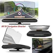Eximtrade HUD Head Up Display Car Phone Holder Support Mount GPS Image Reflector