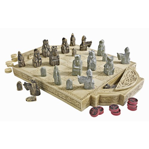 Design Toscano Isle of Lewis Chess (Celtic Chess Board)