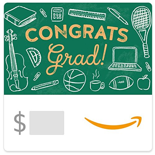 Amazon eGift Card - Graduation Chalkboard