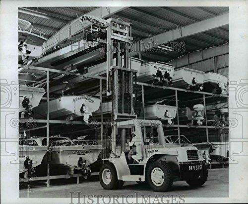 1969 Press Photo Hyster lift truck - orb78192 (Hyster Lift)