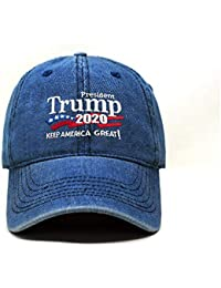 2cfe1adfe85 Trump 2020 Keep America Great Campaign Embroidered USA Hat